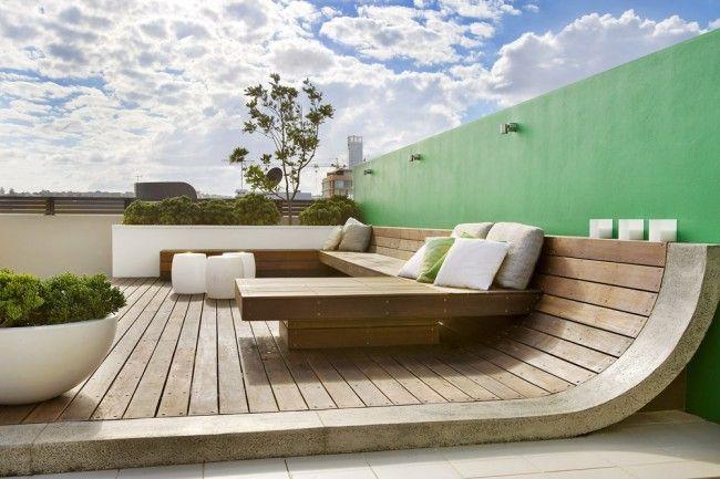 Banc Terrasse Design Veranda Styledevie Fr