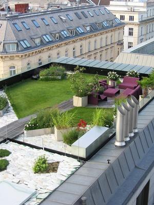 Galet toit terrasse - veranda-styledevie.fr