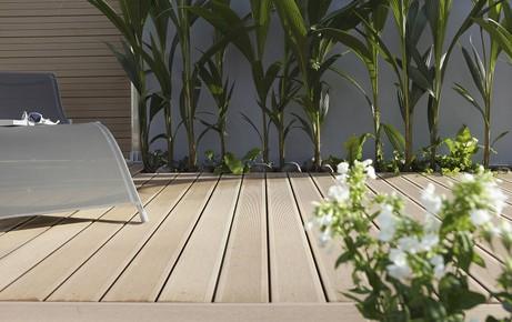 Dalle terrasse facile d'entretien