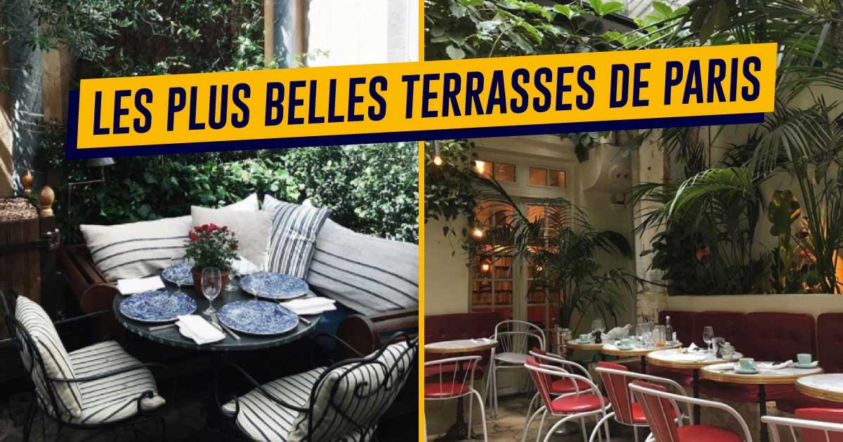 Restaurant Terrasse Paris Romantique Veranda Styledevie Fr
