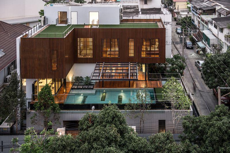 Terrasse De Maison En Hauteur Veranda Styledevie Fr